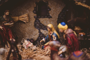 What Christmas means to me baby jesus in a manger
