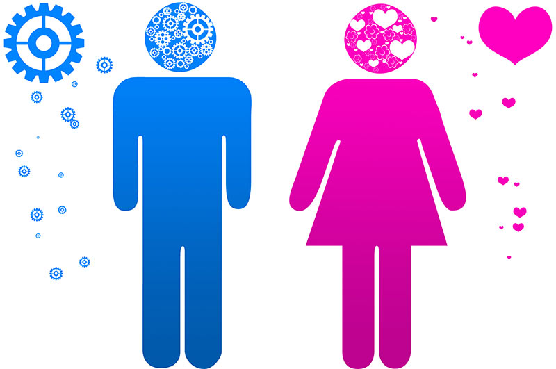 a comparison of male and female in different circumstances Genders represent the differences and also similarities between female and male, or women and men in general, men undertake people experience their faith due to these facts, people, namely men and women, undertake different tasks, responsibilities it shouldn't be important to.