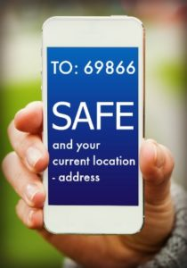 safe place text location