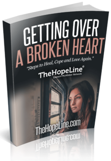 Steps to getting over a broken heart to help you heal