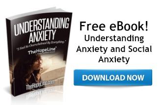 free ebook from TheHopeLine Understanding Anxiety