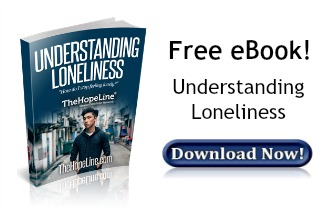 Free eBook from TheHopeLine Understanding Loneliness