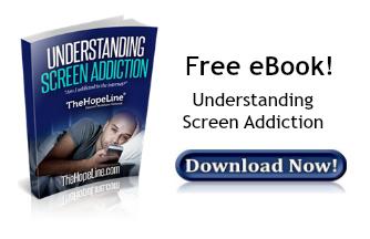 Free eBook from TheHopeLine Understanding Screen Addiction
