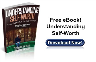 Free eBook from TheHopeLine Understanding Self-Worth