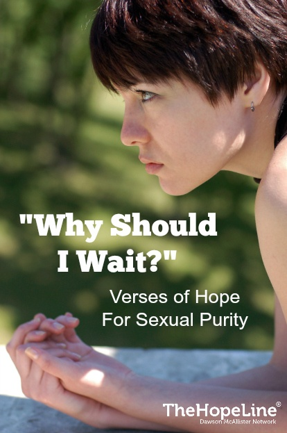 Why should I wait to have sex?