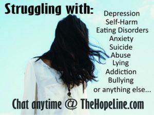 promote thehopeline