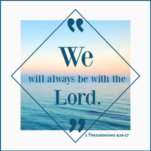 1 Thessalonians 4:16-17