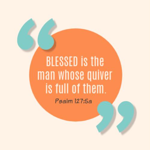 Psalm 127:5a