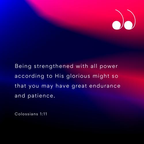 Colossians 1:11